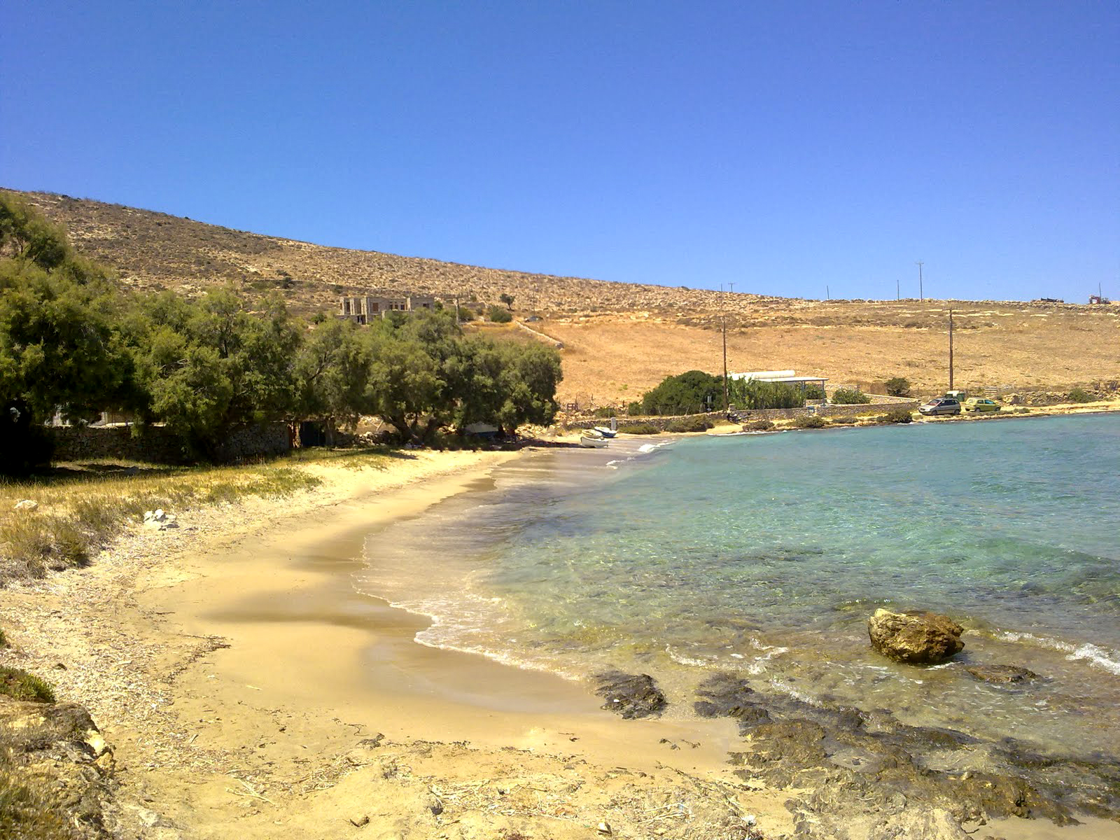 The Almiros Beach of Schinoussa