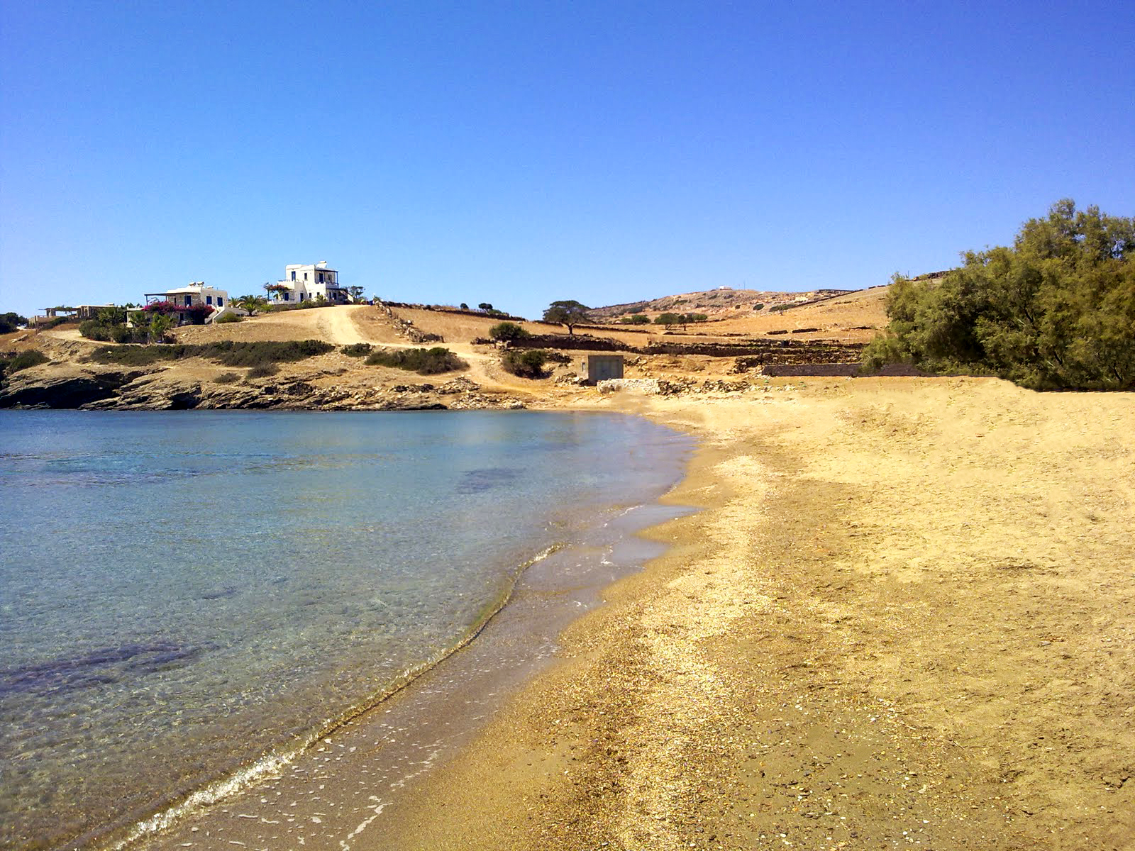 The Livadi Beach of Schinoussa
